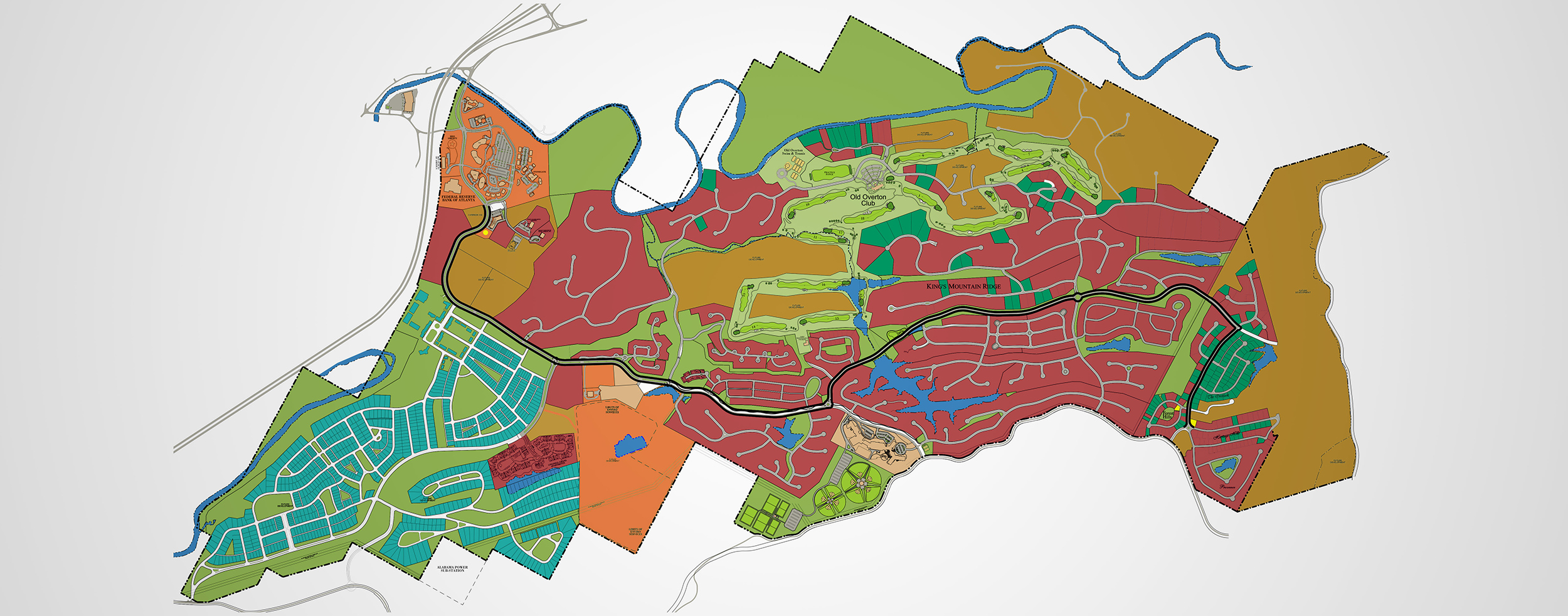 Masterplanned Community LibertyPark Map