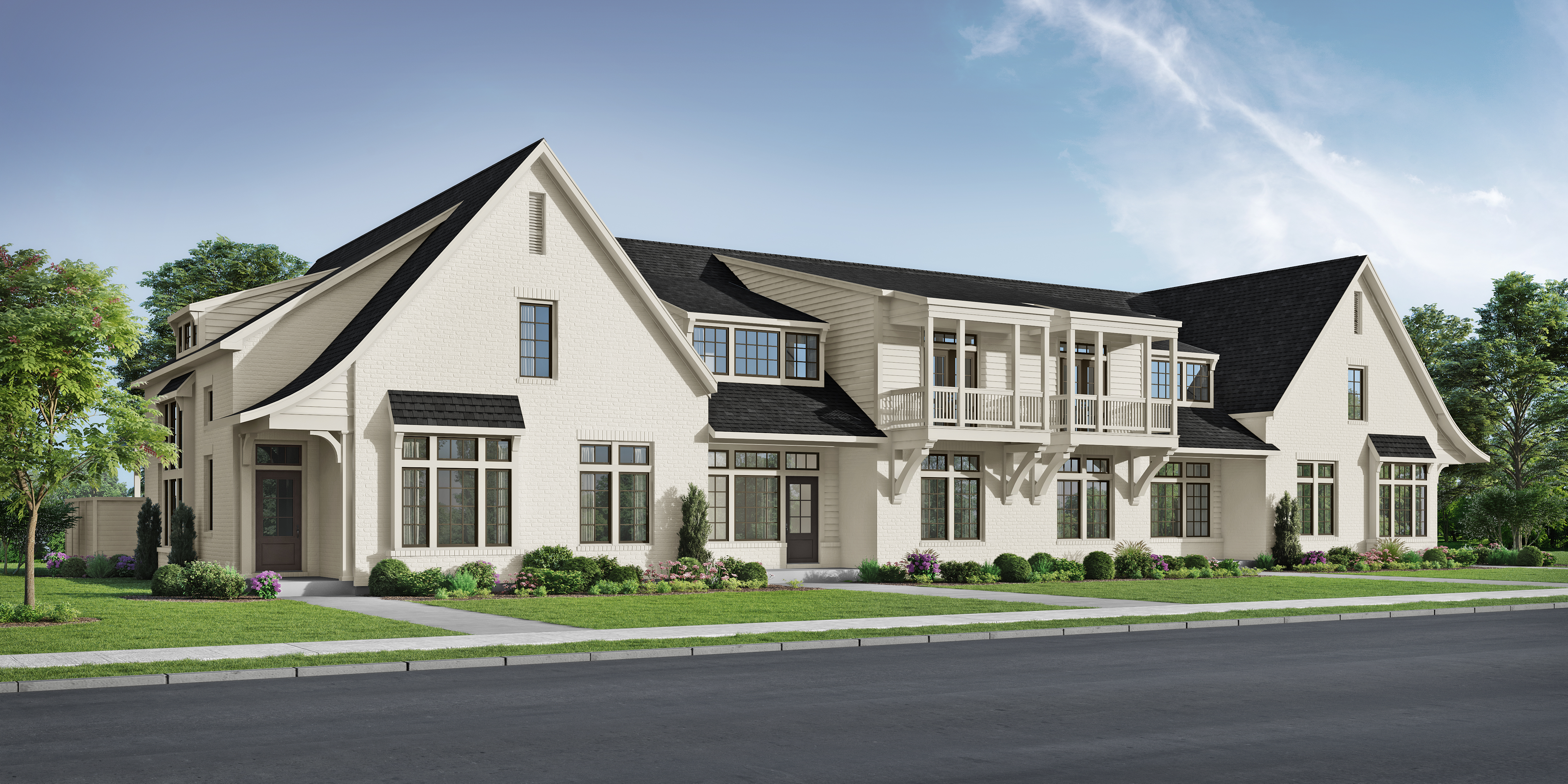 The Bray Townhomes at Liberty Park